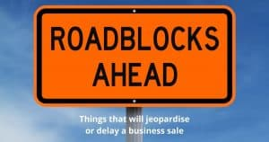 Roadblock Sign